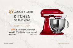 Win a KitchenAid Mixer Every Week!