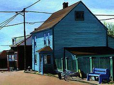 Goineau raphaele / Outdoor painter / Peintre / Saint-Pierre & Miquelon | PEINTURES ANCIENNES