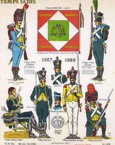 Fanteria leggera italiana Kingdom Of Naples, Kingdom Of Italy, Empire, Italian Army, National History, Army Uniform, French Army, Napoleonic Wars, Toy Soldiers