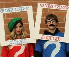 """A """"Guess Who"""" Halloween"""