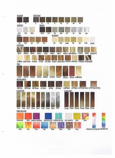 Lace Wigs Hair Color Chart Over 60 Variations Ion Blonde