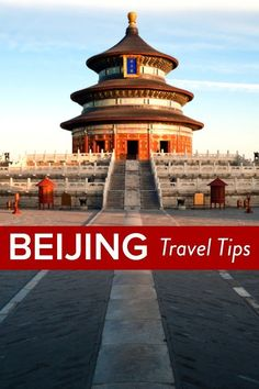 Travel Tips - What to do in Beijing, China. Where to eat, sleep, explore and much more!