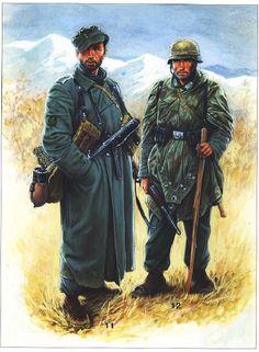 Ww2 Uniforms, German Uniforms, Military Art, Military History, Luftwaffe, Eastern Front Ww2, Germany Ww2, German Army, World War Two