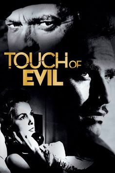 Touch of Evil directed by Orson Welles who starred alongside Charlton Heston, Janet Leigh and a remarkable cast inc Marlene Dietrich, Zsa Zsa Gabor & sister Eva Gabor, Akim Tamiroff and Dennis Weaver among others. Zsa Zsa Gabor, Marlene Dietrich, La Soif Du Mal, Movie Stars, Movie Tv, Orson Welles, Thing 1, Great Films, Movies