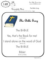 Bible Lapbook, Free Bible Lapbook, scripts about the bible