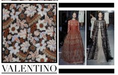 Focus on Valentino in Paris chapter. #Valentino #HauteCouture #catwalks #fashion #woman #style #clothes #dress #look