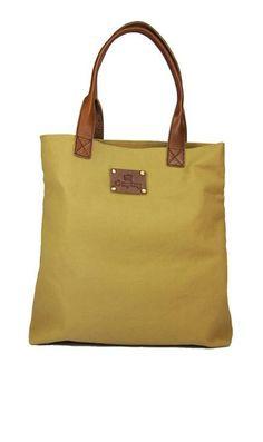 zooey canvas tote.
