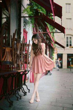 Cute and girly Ulzzang fashion