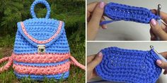It has been a while since we have shared a backpack tutorial and our readers are demanding it. Here you have it – yet another, complete backpack tutorial. Just like the ones shared previously on Design-Peak this is a tutorial for a rather beautiful backpack that you can take simply anywhere. Work, yard, grocery –… Read More Crochet Pretty Backpack