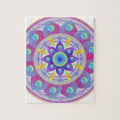 Wishing for Spring...Mandala Jigsaw Puzzle - spring gifts beautiful diy spring time new year