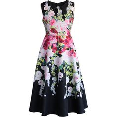 Chicwish The Flowers Banquet Midi Dress and other apparel, accessories and trends. Browse and shop 10 related looks.