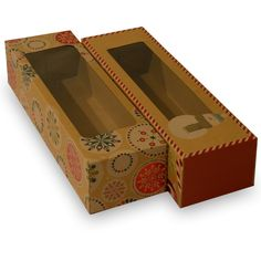 GARMENTS GIFTS 1 WHITE 5 x 5 INCH BOX WITH WINDOW LID CAKES ETC