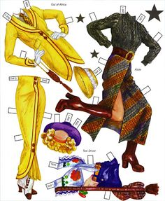 Hollywood Style of The 60s 70s 80s Paper Doll by David Wolfe - Katerine Coss - Picasa Web Albums