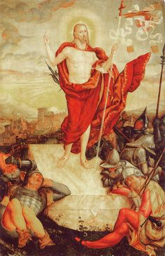 Lucas Cranach, The Resurrection of Jesus, 1558
