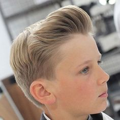 Boys Quiff Fade Haircut - Best Boys Fade Haircuts: Cool Taper Fade Haircuts For Kids - Low, Mid, Hig Hairstyles For School Boy, Cool Hairstyles For Boys, Cute Little Boy Haircuts, Cool Boys Haircuts, Little Boy Hairstyles, Trendy Haircuts, Beautiful Hairstyles, Medium Hairstyles, Latest Hairstyles