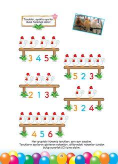 Okul Öncesi Konu Anlatım Sevimli Dostlarımızla Matematik 48+ Number Worksheets, Preschool Worksheets, Non Toy Gifts, Ocean Crafts, Birthday Board, Easy Peasy, Crafts For Kids, Classroom, Arya