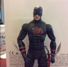 Black Daredevil Custom Action Figure