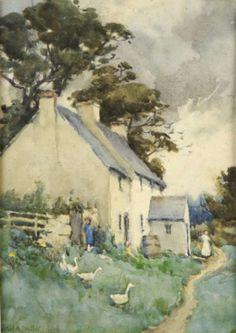 Mildred Butler (Irish, 1858-1941) it's simple beauty, soft colors evoke a warm feeling, a gentleness