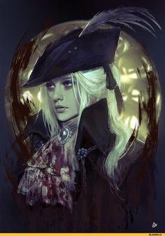 Raquel Cornejo, Lady Maria, BB characters, BloodBorne, Dark Souls, fandoms