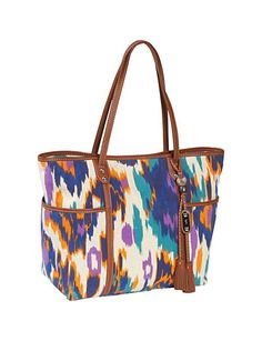 """When I'm running all over during my long summer weekends, I need a colorful tote to come with me everywhere. I usually invest in a high-quality bag like this one every few years."""