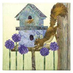 McKenna Ryan Quilt Pattern Home Tweet Home Squirrel Nosy Neighbor Birdhouse DIY | eBay