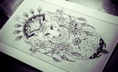 http://edwardmiller.deviantart.com/art/Fox-totem-360222549