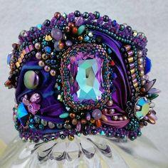 Hey, I found this really awesome Etsy listing at https://www.etsy.com/listing/234610882/majestic-shibori-silk-ribbon-bead
