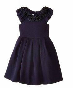 Bonnie Jean party dress blue
