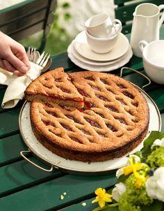 Linzer Torte Ober Und Unterhitze, Sweet Tarts, Linzer Torte, Christmas Baking, Waffles, Breakfast, Food, Austria, Tv