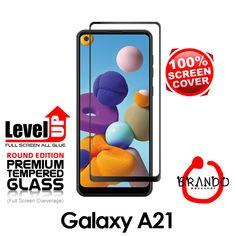 Brando Workshop Full Screen Coverage Glass Protector (Samsung Galaxy A21) - Black Phone Screen Protector, Glass Protector, Usb Gadgets, Galaxies, Smartphone, Workshop, Samsung Galaxy, Black, Atelier