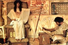 """SIR LAWRENCE ALMA-TADEMA, """"Joseph's Brothers Bow Before Him"""" GENESIS 42:6 Now Joseph was governor of the land, the one who sold grain to all its people. So when Joseph's brothers arrived, they bowed down to him with their faces to the ground. Joseph saw his brothers, he recognized them, but he pretended to be a stranger."""