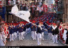 hondarribia guipuzoa | Alarde´ festival, Hondarribia, Guipuzcoa, Basque Country,