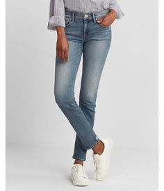 Blue. A Cut That's A Little More Easygoing Than A Legging, This Super Skinny Jean Offers The Ideal Blend Of Polished And So-Sexy Style. Add A Lace-Up Tee Or Fitted Top For A Super Cute Casual Friday Look. Womens Jeans. 0 Short #casualshort