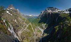 Le più belle strade del mondo - Trollstigen, Rauma, Norvegia