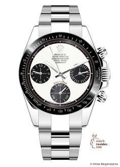 My proposal for the next generation of the Rolex Daytona.