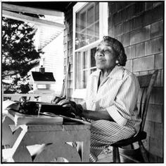 Dorothy West, author of The Living is Easy, on Martha's Vinyard