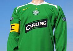 Celtic F.C. Away Shirt 2005-2006 Nike Player Issue Long Sleeve Neil Lennon  18 Captains 1b2883317