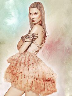 Ëlodie Fashion Illustrations