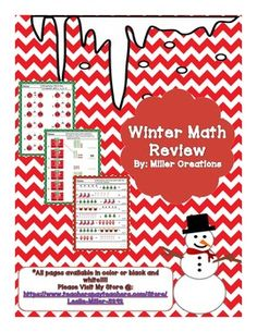 This packet has fun math review activities for Kindergarten or 1st grade!!!  You may use as an activity in a station, seat work, or homework!!!  This packet includes:*Addition Practice (Color and B&W)*Subtraction Practice (Color and B&W)*Counting by 5's (Color and B&W)*Counting by 10's (Color and B&W)*Place Value (Color and B&W)*Graphing (Color and B&W)*Word Problems (Color and B&W)Please feel free to use this in your classroom!