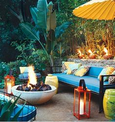 The Happiness of Having Yard Patios – Outdoor Patio Decor Outdoor Rooms, Outdoor Gardens, Outdoor Living, Outdoor Furniture Sets, Outdoor Seating, Outdoor Sofa, Outdoor Patios, Garden Seating, Outdoor Kitchens