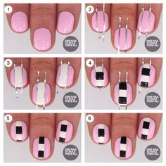 Step By Step.. NAILS !! :)) 🎄