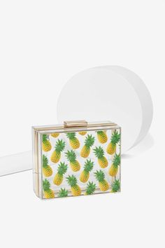 Skinnydip London Pineapple Box Crossbody Purse