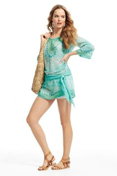 Halia Tie Dyed Cotton Tunic