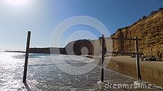 Cala Fuente del gallo beach- Conil de la Frontera  -Andalusia- Spain-Europe