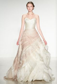 OMBRE WEDDING DRESSES | 2014 / 2015 Wedding Dress Trends – Ombre Wedding Gowns