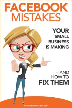 Facebook Mistakes Your Small Business is Making (and How to Fix Them)
