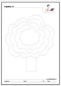Cianchetto.it - Pregrafismo: albero a chioma concentrica