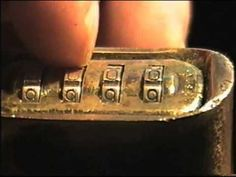 EZ Decoder: Easily Decipher or Bypass a Multi-Wheeled Combination Lock - YouTube