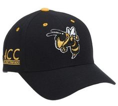 59496799a45 Georgia Tech Yellowjackets Adult Adjustable Hat Top of the World.  12.94.  Adjustable design helps