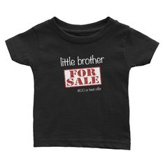 For Sale - Little Brother - Infant Tee